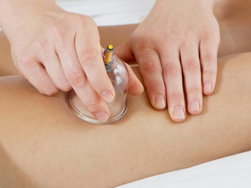 Вакумный массаж